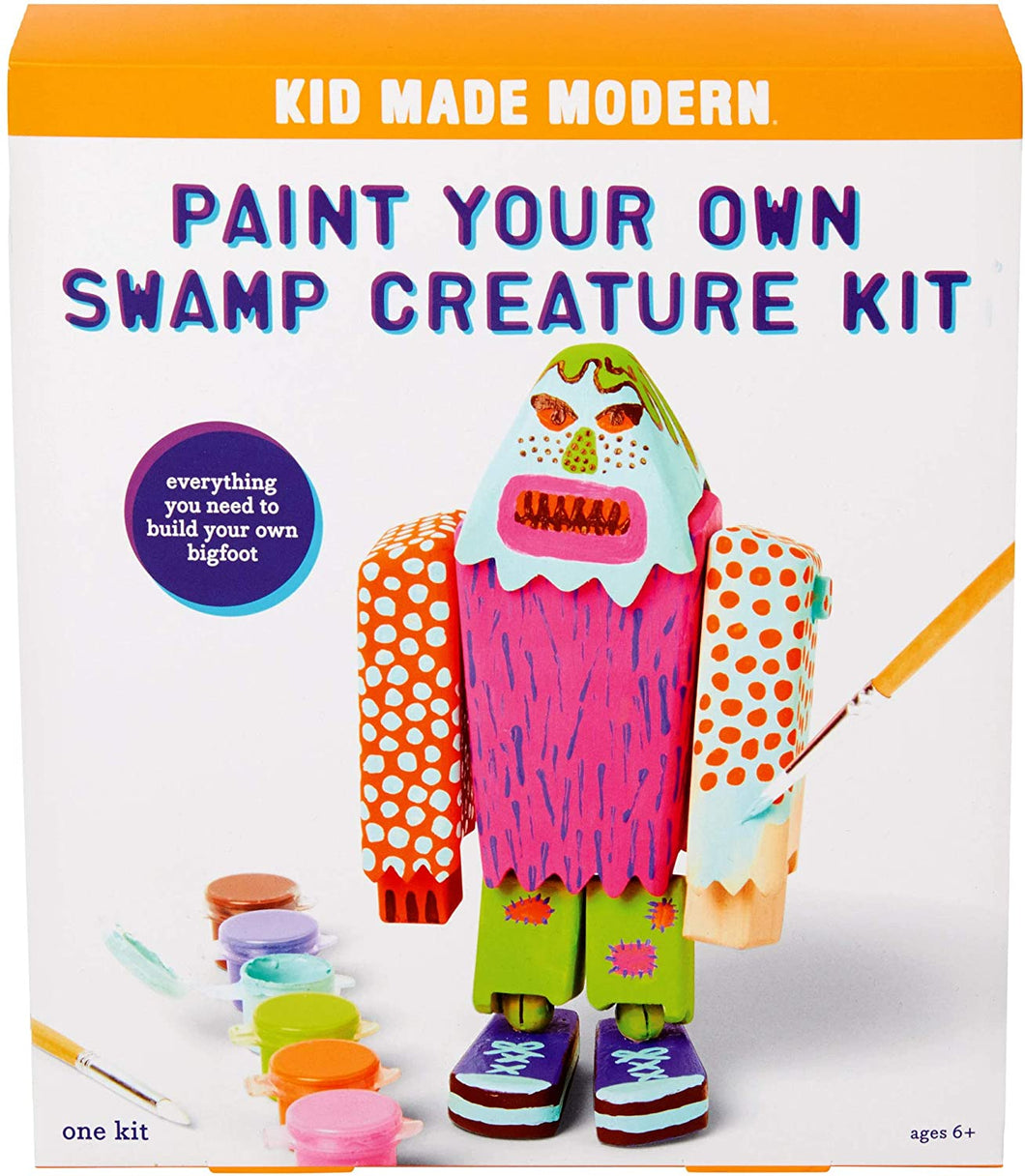Kid Made Modern Paint Your Own Swamp Creature