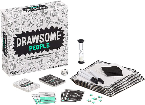 Drawsome People Group Party Game, Ages 11