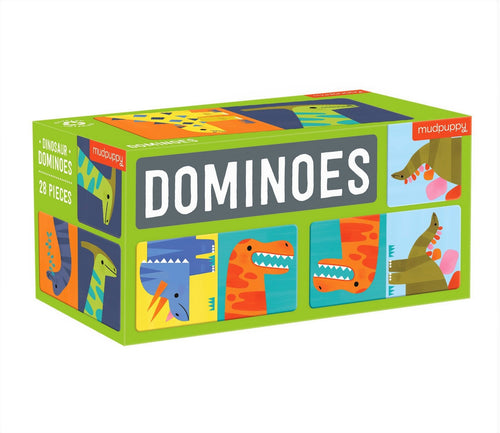 Mudpuppy Dinosaur Dominoes