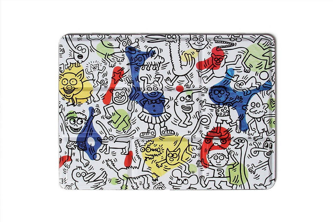 Keith Haring Tin Watercolor Set