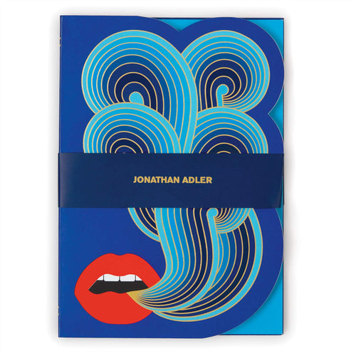 Jonathan Adler Lips A5 Notebook