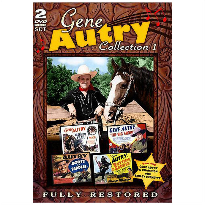 DVD Gene Autry Collection 1