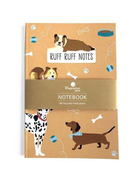 Ruff Ruff Notes - Dogs Notebook