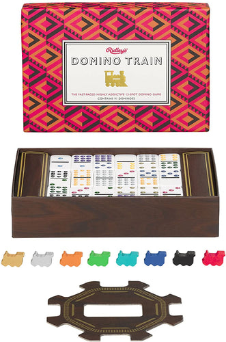 Domini Train Game in a Box