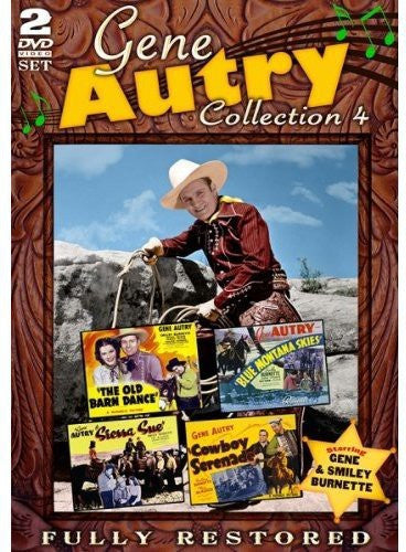 DVD Gene Autry Collection 4