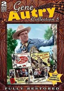 DVD Gene Autry Collection 5