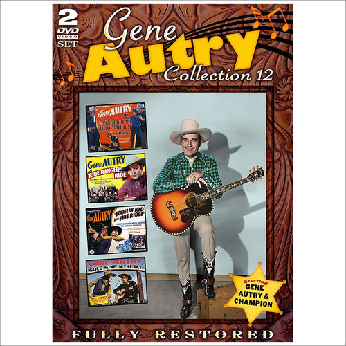 DVD Gene Autry Collection 12
