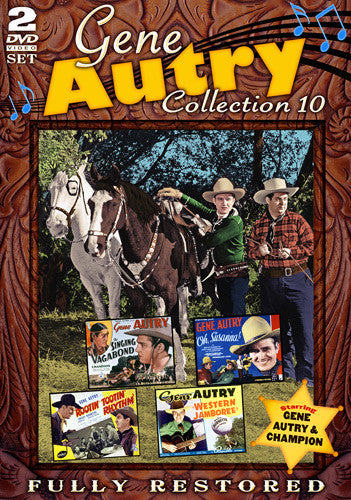 DVD Gene Autry Collection 10