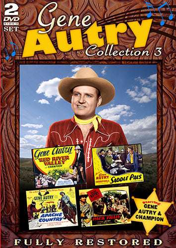 DVD Gene Autry Collection 3
