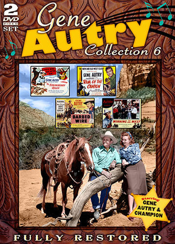 DVD Gene Autry Collection 6