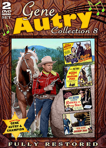 DVD Gene Autry Collection 8