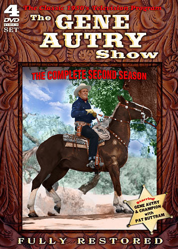 DVD Gene Autry Show Season 2