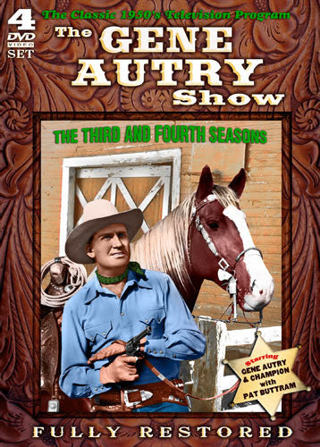 DVD Gene Autry Show Season 3&4