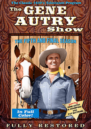 DVD Gene Autry Show Season 5