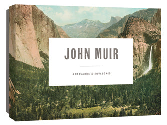 John Muir Boxed Notecards