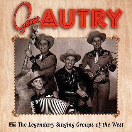 CD With the Legendary Singing Groups of the West