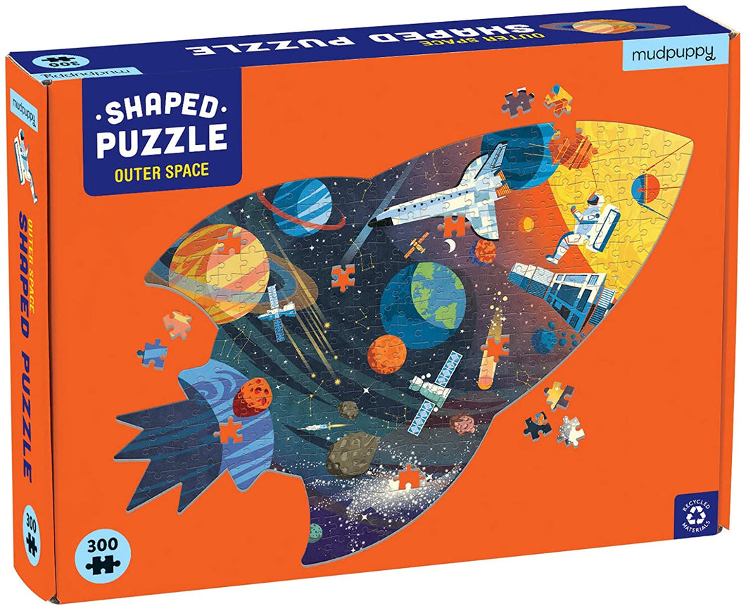 Outer Space Shaped Puzzle