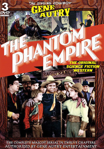 DVD Gene Autry Phantom Empire