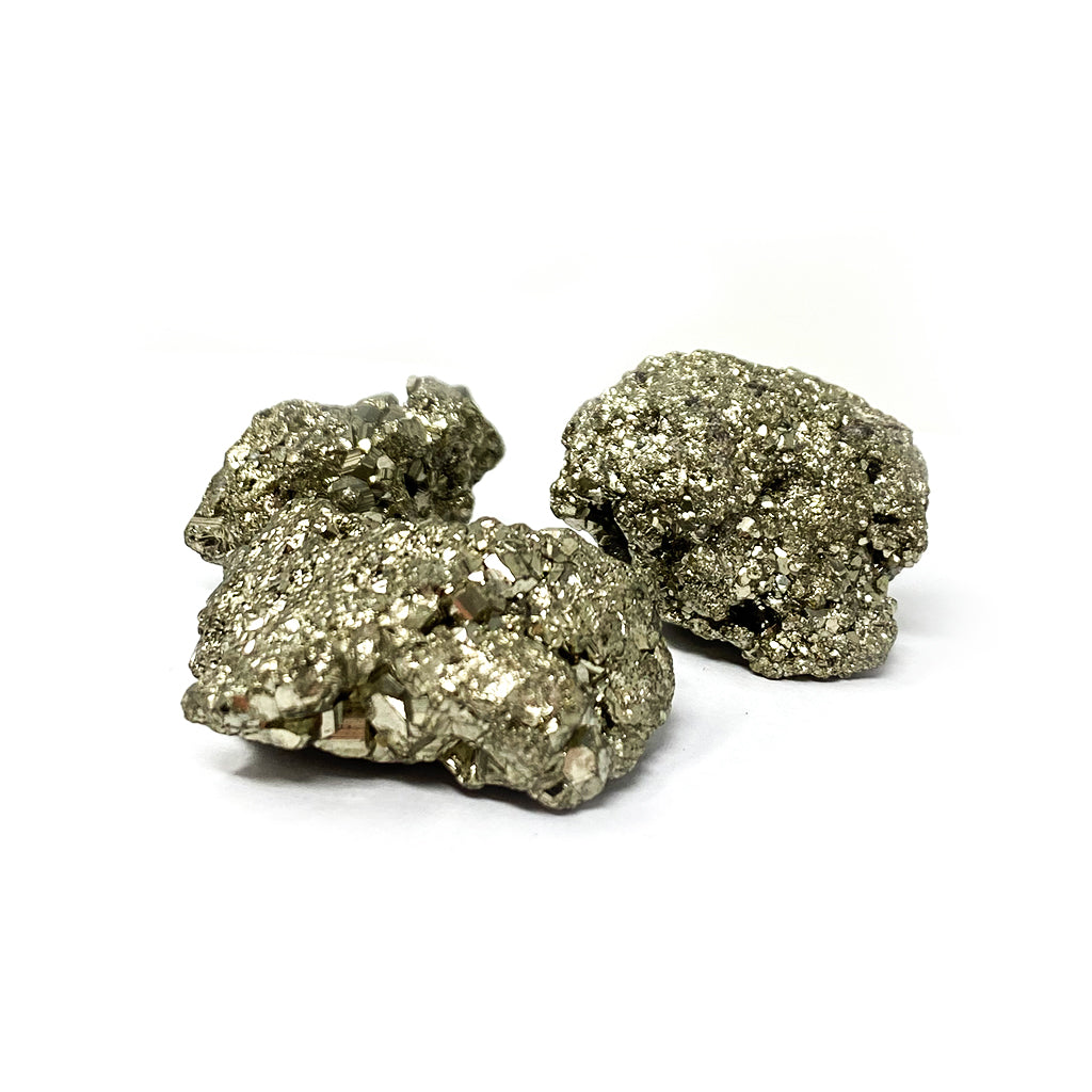 Set of 3 Pyrites