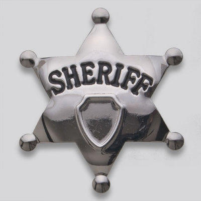 Child Sheriff Badge