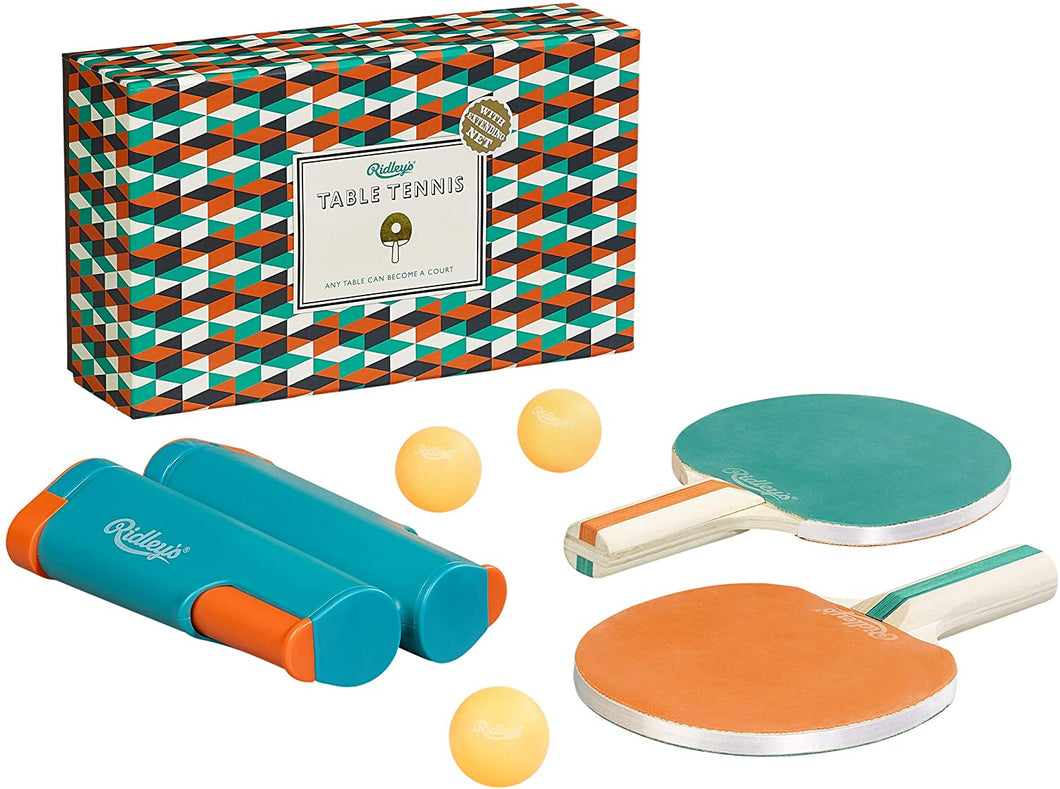 Ridley's Portable Travel 6-Piece Table Tennis Set
