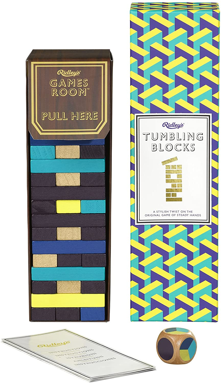 Ridley's Games Room Tumbling Blocks Cards