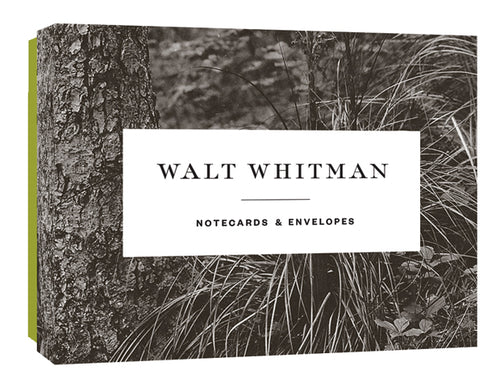 Walt Whitman Boxed Notecards