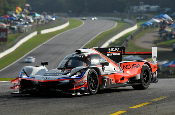 Contact Ends Acura Victory Hopes at Road Atlanta