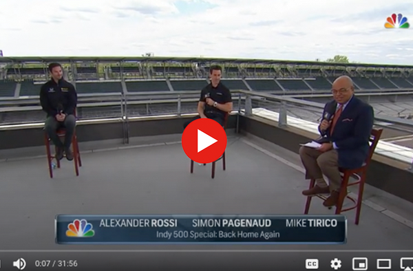 NBC Sports Special: Back Home Again with Rossi & Pagenaud