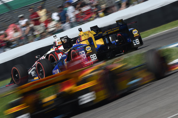Rossi P8 in tough IndyCar Grand Prix Battle