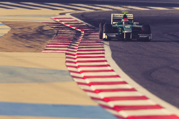 Rossi Has Successful Caterham F1 Test in Abu Dhabi
