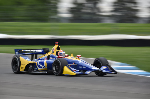 Frustrating IndyCar Grand Prix for Rossi