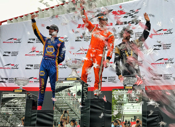 Rossi Finishes Second in Toronto