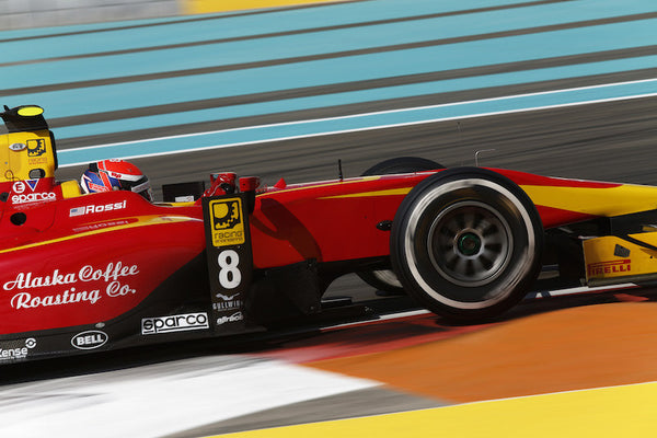 Alexander Rossi maintains 2nd place in the GP2 Series driver ranking