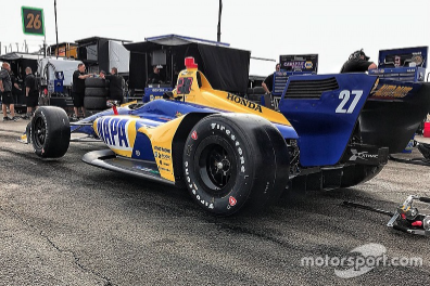 Rossi: New IndyCar's reduced drag feels like a big power boost