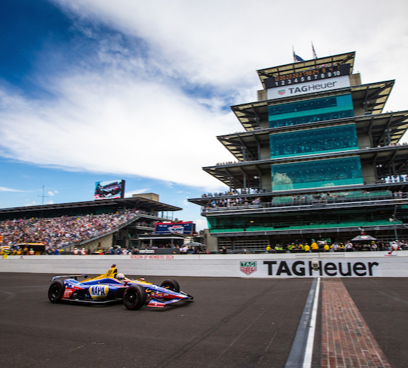 Rossi gains 28 positions in Indy 500 stunner