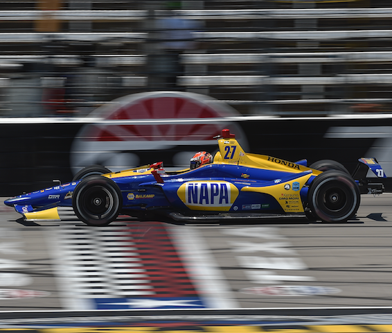 Rossi P3 in Texas, now second in Championship