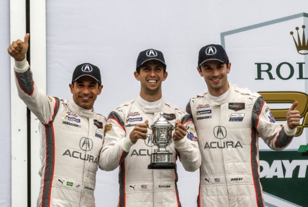 Acura Survives Treacherous Rolex 24 Conditions To Score Podium Finish