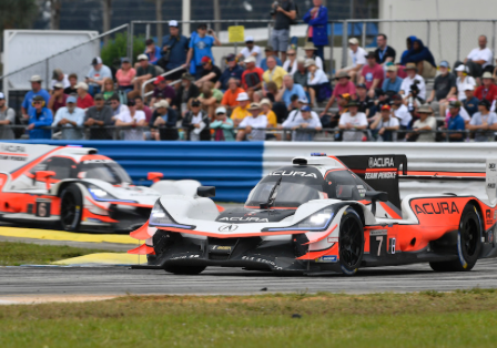 RACER.com - Acura high hopes dashed in wet Sebring 12 Hour start