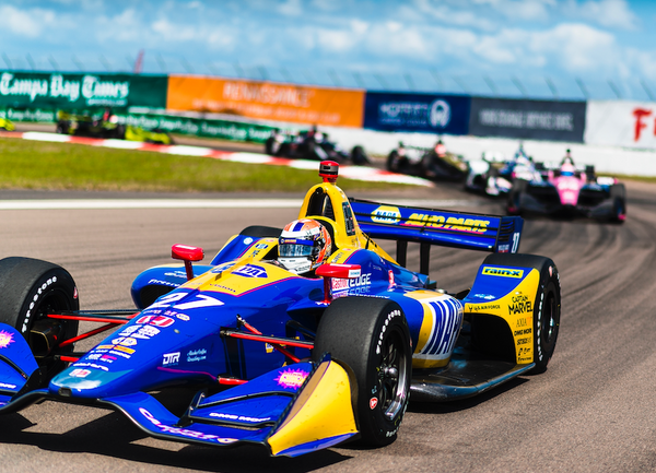 Rossi Starts Strong in IndyCar Season Opener
