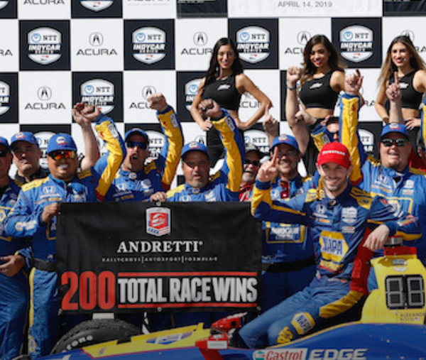 RACER.COM - Andretti reflects on 200th team win