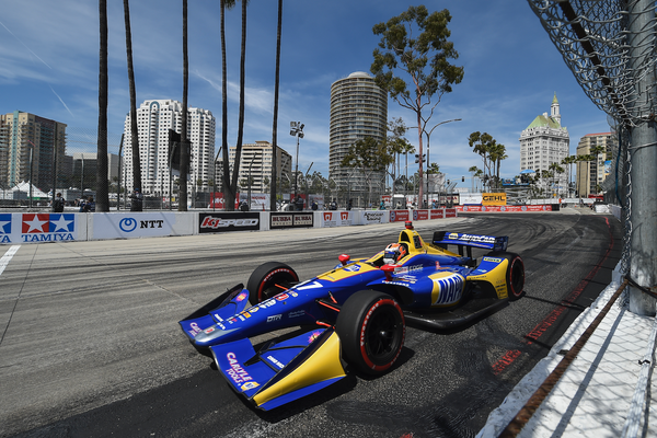 Rossi Wins Again in Long Beach, Now Second in Points