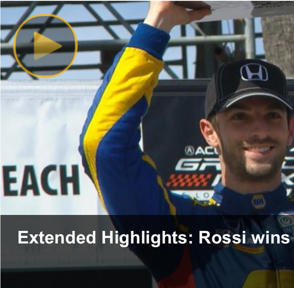 NBC Sports - Rossi dominant in winning second consecutive at Long Beach