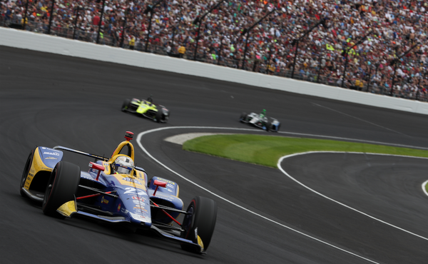 Rossi Nearly Wins Indy 500, Steals the Show