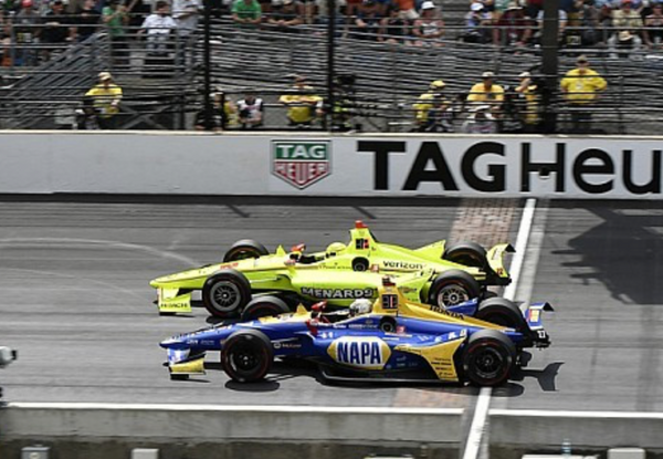 Motorsport.com - Rossi on the science behind his Indy 500 near miss