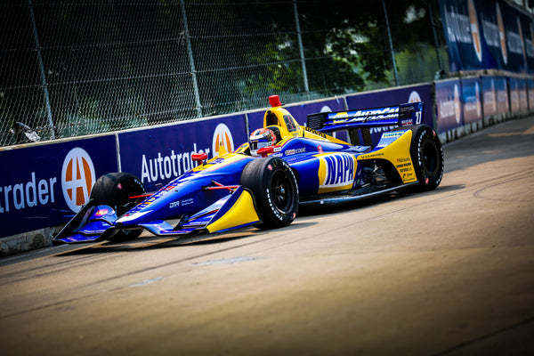 Rossi Grabs Valuable Points in Detroit Doubleheader