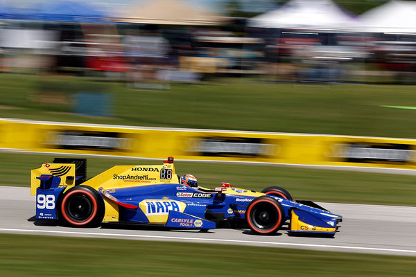 Rossi Fast, But Victim of More Bad Luck in Road America