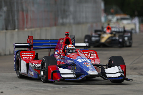 Rossi Gains 7 Spots in Detroit Race 2