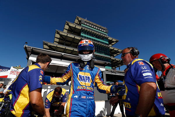 Rossi Qualifies on the Front Row for 101st Indy 500
