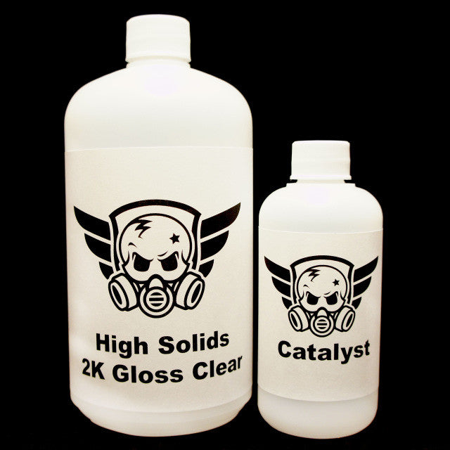 High Solids 2K Gloss Clear - Kansas Hydrographics